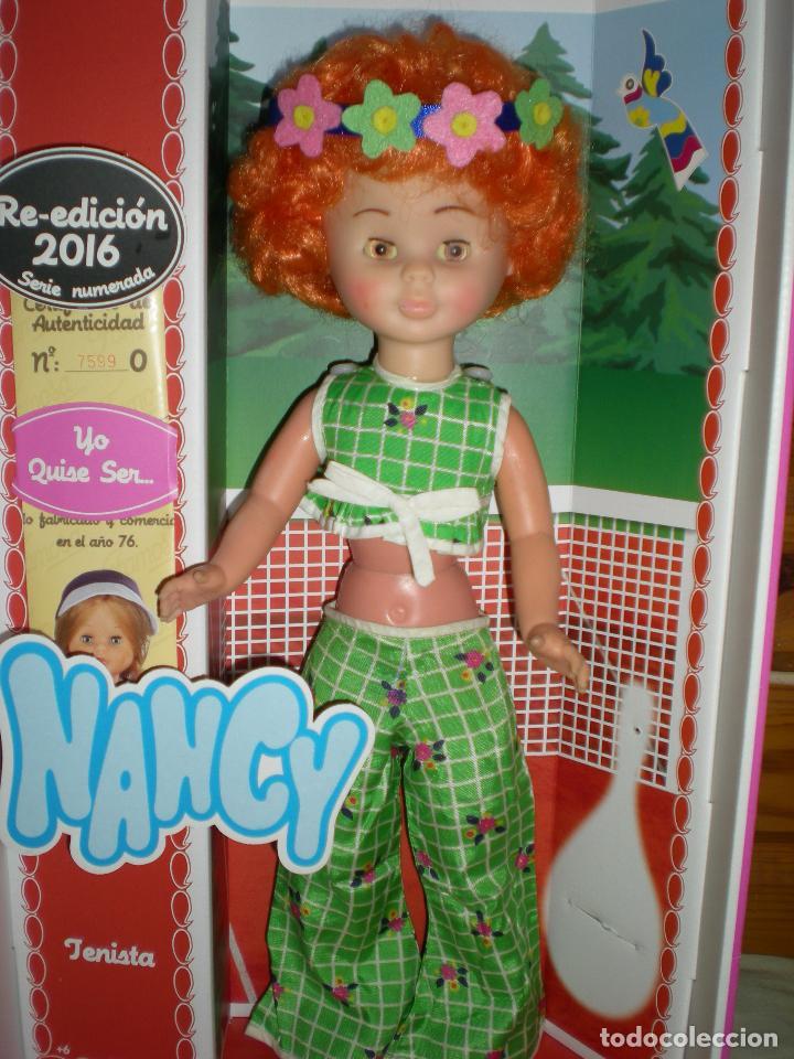 Muñecas Nancy y Lucas: nancy articulada en el jardín AÑOS 70 pelo afro naranja como la del catalogo injertada ha maquina - Foto 5 - 70122165
