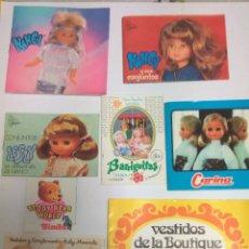 Muñecas Nancy y Lucas: CATALOGOS MUÑECAS VARIOS. Lote 75917219