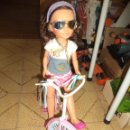 Muñecas Nancy y Lucas: NEW NANCY EN BICICLETA.FAMOSA.NANCY MODERNA.. Lote 76752911