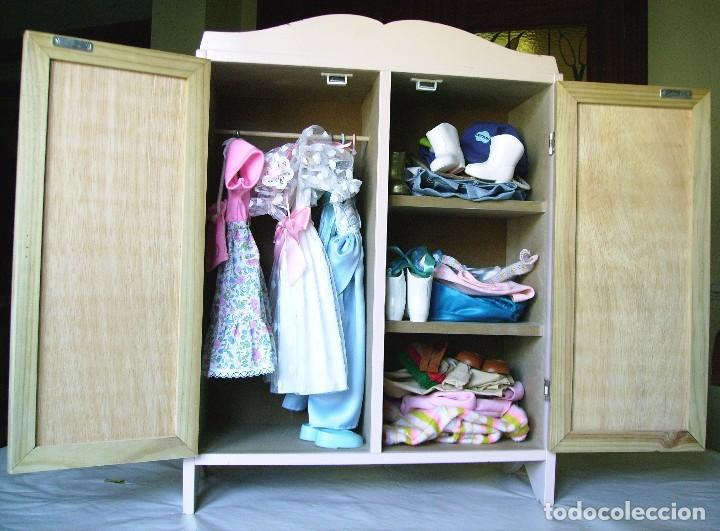 Aparadores Para Quarto De Casal ~ armario ropero para vestuario y complementos de Comprar Vestidos y accesorios muñeca Nancy y