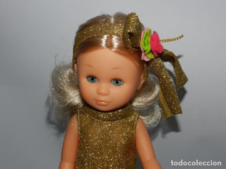 Muñecas Nancy y Lucas: Muñeca LETY DE PAOLA REINA con vestido de Nancy Star, en excelente estado de conservación, ojos a - Foto 2 - 76929565