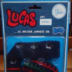 Muñecas Nancy y Lucas: BLISTER LUCAS GORRO Y BUFANDA. Lote 78068465