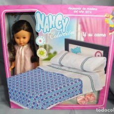 Muñecas Nancy y Lucas: MUÑECA NANCY Y SU CAMA. Lote 78458485