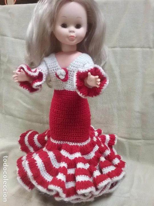 nancy vestido sevillana casero para mueca nancy de famosa solo se vende el vestido