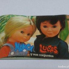 Muñecas Nancy y Lucas: ANTIGUO CATALOGO DE NANCY Y LUCAS 1979, TIENE14 HOJAS.. Lote 84004864