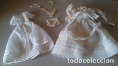 DOS VESTIDOS DE COMUNION NANCY (Juguetes - Muñeca Española Moderna - Nancy y Lucas, Vestidos y Accesorios)