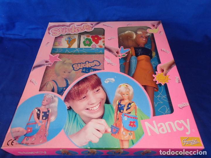 Muñecas Nancy y Lucas: NANCY - NANCY MANIQUI STICKERS FAMOSA AÑO 2000, A ESTRENAR VER FOTOS!!! SM - Foto 7 - 89013352