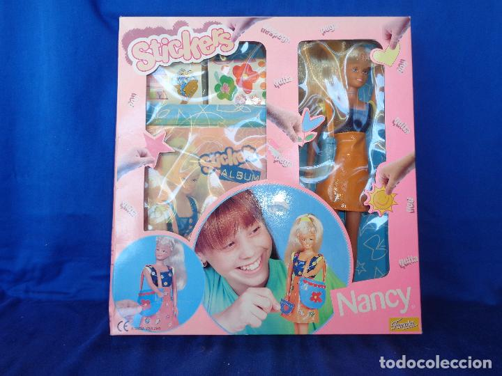Muñecas Nancy y Lucas: NANCY - NANCY MANIQUI STICKERS FAMOSA AÑO 2000, A ESTRENAR VER FOTOS!!! SM - Foto 8 - 89013352