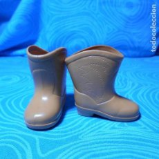 Muñecas Nancy y Lucas: BOTAS ORIGINAL NANCY, COLOR CAMEL AÑOS 70 ). Lote 90537015