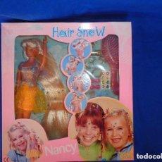 Muñecas Nancy y Lucas: NANCY - NANCY MANIQUI HAIR SHOW FAMOSA AÑO 2000, A ESTRENAR VER FOTOS!!! SM. Lote 89013188