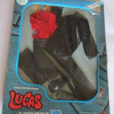 Muñecas Nancy y Lucas: TRAJE LUCAS, ROCK EN NEGRO REF 80611, EN CAJA. CC. Lote 93420760