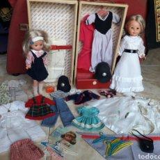 Muñecas Nancy y Lucas: LEER NANCY PATABOLLO Y LESLY, LOTE ROPA Y COMPLEMENTOS 38 FOTOS. Lote 94956444