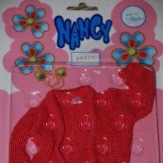 Muñecas Nancy y Lucas: NANCY SET EN BLISTER CHAQUETA COLOR ROSA REF 80131 NUNCA ABIERTO. Lote 95124819