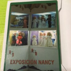 Muñecas Nancy y Lucas: CALENDARIO EXPOSICIÓN NANCY. Lote 95640751