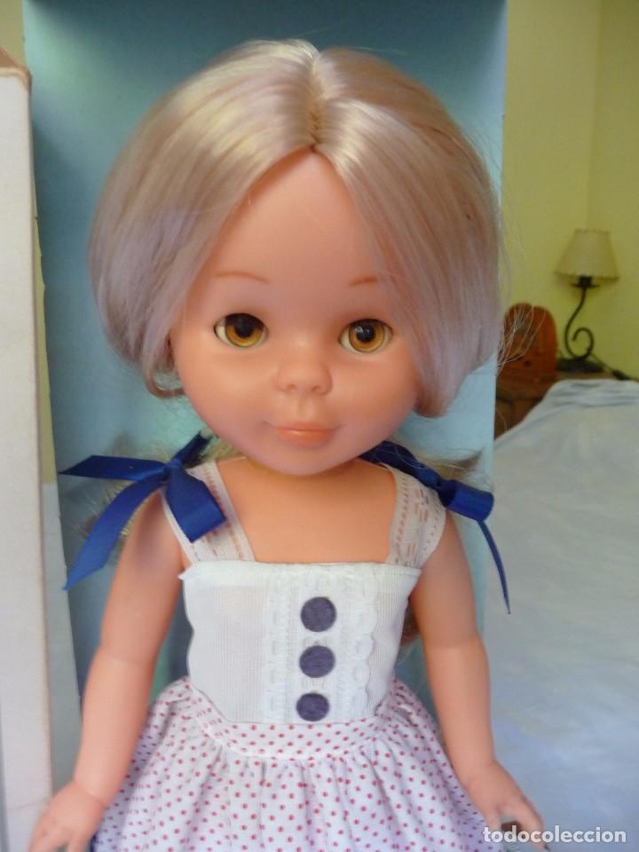 Muñecas Nancy y Lucas: Nancy de famosa rubia ojos marron margarita con dificil conjunto años 80 nueva en caja - Foto 6 - 95772583