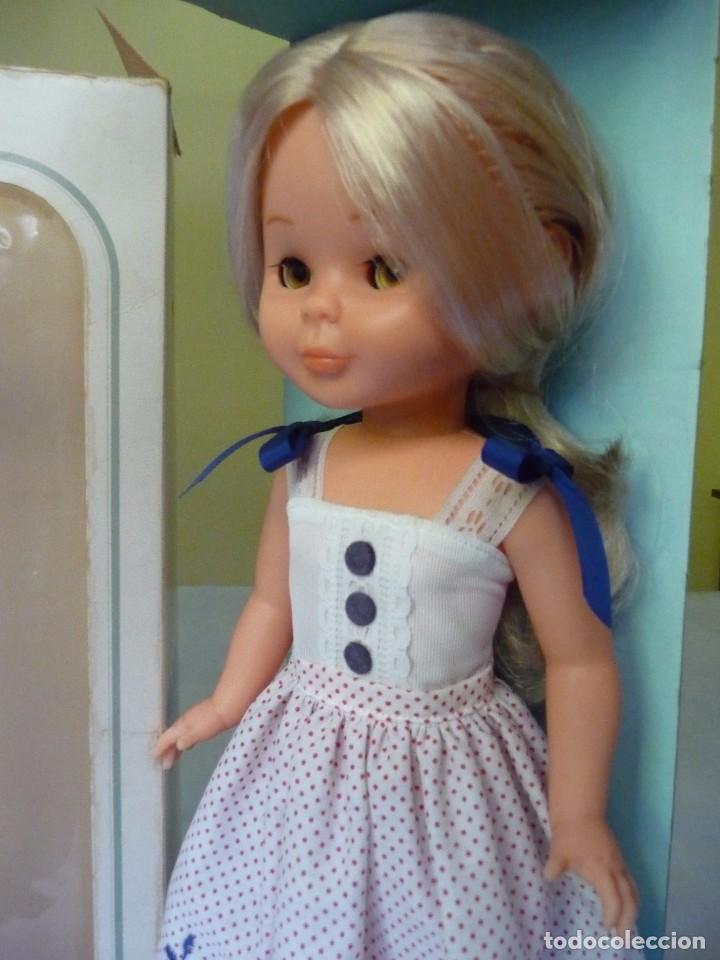 Muñecas Nancy y Lucas: Nancy de famosa rubia ojos marron margarita con dificil conjunto años 80 nueva en caja - Foto 7 - 95772583