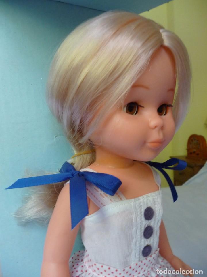 Muñecas Nancy y Lucas: Nancy de famosa rubia ojos marron margarita con dificil conjunto años 80 nueva en caja - Foto 8 - 95772583