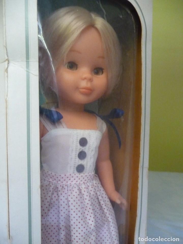 Muñecas Nancy y Lucas: Nancy de famosa rubia ojos marron margarita con dificil conjunto años 80 nueva en caja - Foto 9 - 95772583