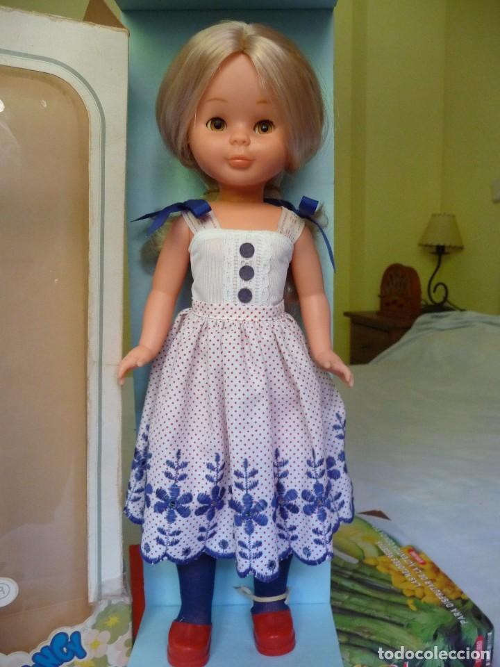 Muñecas Nancy y Lucas: Nancy de famosa rubia ojos marron margarita con dificil conjunto años 80 nueva en caja - Foto 12 - 95772583