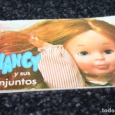 Muñecas Nancy y Lucas: CATALOGO ORIGINAL MUÑECA NANCY . Lote 99306219