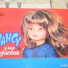 Muñecas Nancy y Lucas: CATALOGOS ORIGINALES MUÑECA NANCY PRECIO POR UNIDAD. Lote 100141239