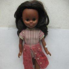 Muñecas Nancy y Lucas: FAMOSA NANCY - MUÑECA NEGRA DE COLOR FABRICADA EN ESPAÑA. Lote 100961635