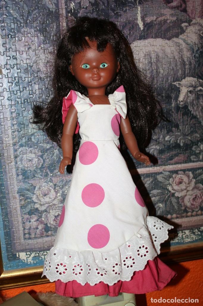 Muñecas Nancy y Lucas: muñeca nancy negrita o negra antigua solo famosa - Foto 2 - 101278803