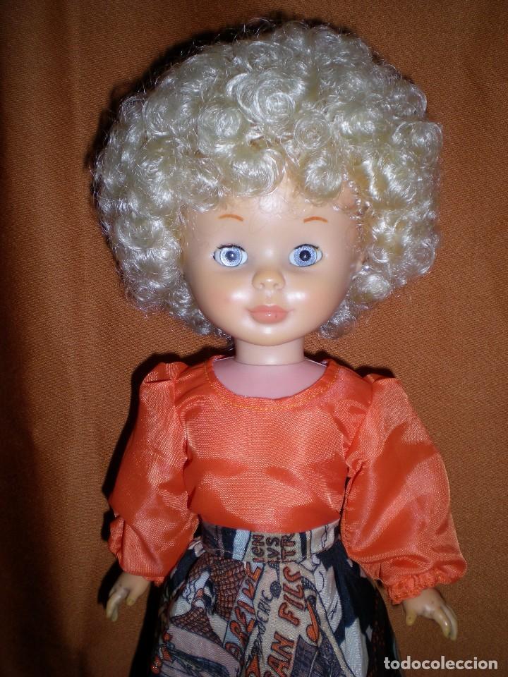 Muñecas Nancy y Lucas: nancy tusset carita porcelana patabollo brazos grandes blandos solo famosa SE VENDE DESNUDA - Foto 2 - 101580683
