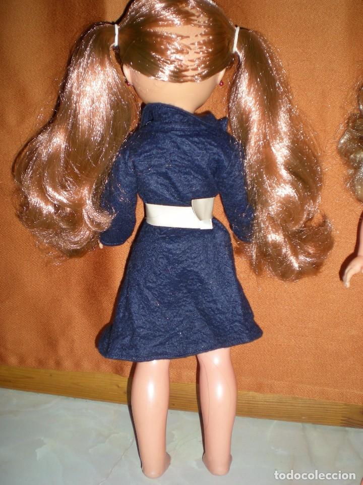 Muñecas Nancy y Lucas: abrigo original de nancy lucas años 70 color azul marino+ cinturón de regalo muñeca no incluida - Foto 2 - 101604343