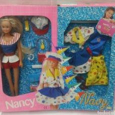 Muñecas Nancy y Lucas: NANCY NAVY. NUEVA EN CAJA MALETÍN. COMPLETO. FAMOSA 1998. REF 83063.. Lote 102497766
