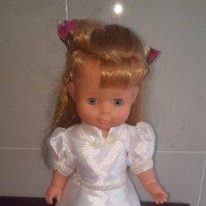 Muñecas Nancy y Lucas: MARICELA DE FAMOSA - COMUNIÓN 90` - ESCASA EN TC. Lote 102781155