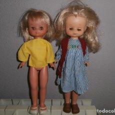 Muñecas Nancy y Lucas: LESLY DOS MUÑECAS. Lote 103116499