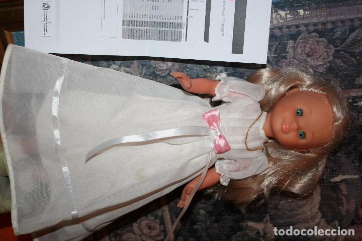 Muñecas Nancy y Lucas: antigua muñeca nancy nueva de comunion ropa original - Foto 2 - 103414803