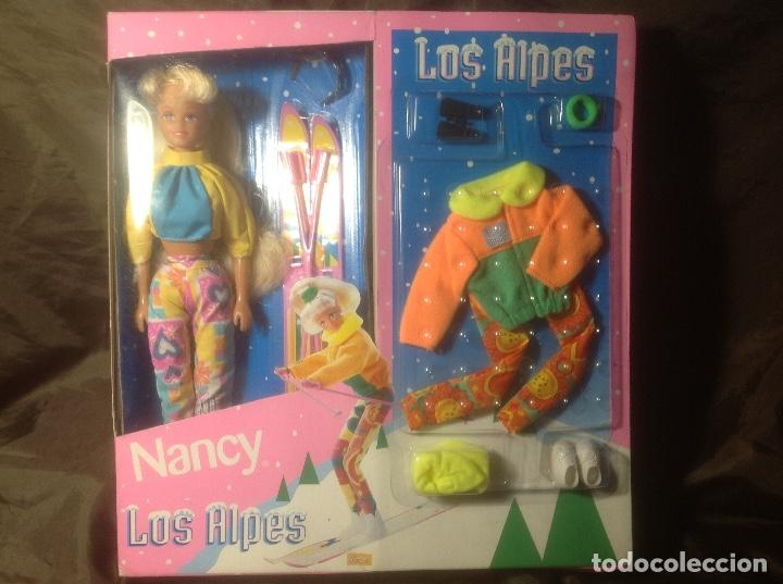 ENVÍO PENÍNSULA 4,40€ NANCY LOS ALPES EN CAJA TAMAÑO BARBIE (Juguetes - Muñeca Española Moderna - Nancy y Lucas)