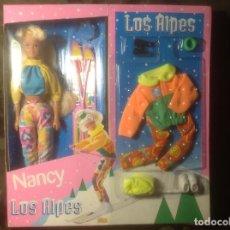 Muñecas Nancy y Lucas: ENVÍO PENÍNSULA 4,40€ NANCY LOS ALPES EN CAJA TAMAÑO BARBIE. Lote 108977734