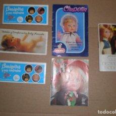 Muñecas Nancy y Lucas: CATALOGOS DE MUÑECAS DE LOS 70 LISSI FANNY CHUPETIN BARRIGUITAS MOCOSETE 5 EUROS CADA UNO. Lote 104270923