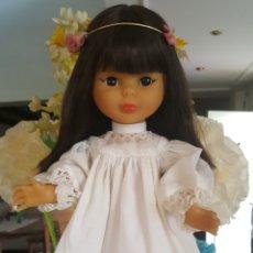 Muñecas Nancy y Lucas: NANCY ORIENTAL CON DIADEMA Y ROPA ORIGINAL FUNCIONA. Lote 104324748