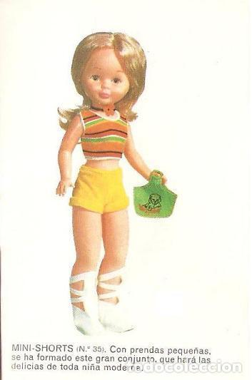 Muñecas Nancy y Lucas: BOLSITO ORIGINAL MINI SHORTS. NANCY DE FAMOSA AÑOS 70. DIFÍCIL RAREZA - Foto 4 - 104545243