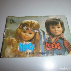 Muñecas Nancy y Lucas: CATALOGO ORIGINAL NANCY Y LUCAS. Lote 105187791