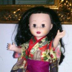 Muñecas Nancy y Lucas: NANCY KIMONO TELA ORIENTAL. Lote 106975671