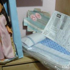 Muñecas Nancy y Lucas: NANCY COLECCIÓN Y SU CAMA NUEVA SIN CAJA. Lote 111535103