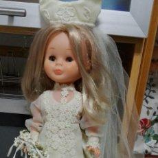 Muñecas Nancy y Lucas: PRECIOSA NANCY DE FAMOSA VESTIDA DE NOVIA. Lote 112055048
