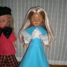 Muñecas Nancy y Lucas: DIVINA NANCY DAMA RUBIA MECHAS PELIRROJAS FAMOSA IMPLANTADA HA MAQUINA SELLADA SOLO FAMOSA. Lote 112471943