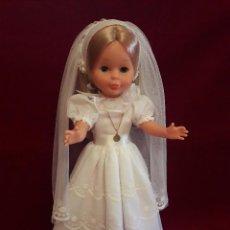 Muñecas Nancy y Lucas: ANTIGUO VESTIDO DE COMUNION DE NANCY NUMERO 46. Lote 114113683
