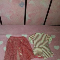 Muñecas Nancy y Lucas: CONJUNTO MINI SHORT DE NANCY DE FAMOSA AÑOS 70. Lote 114586267