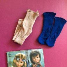 Muñecas Nancy y Lucas: LOTE CATALOGO CALCETINES NANCY FAMOSA AÑOS 70. Lote 115620399