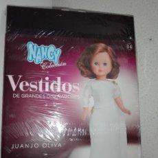 Muñecas Nancy y Lucas: VESTIDO DE MUÑECA NANCY JUANJO OLIVA COLECCION GRANDES DISEÑADORES PLANETA AGOSTINI. Lote 115922867