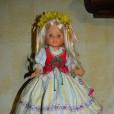 Muñecas Nancy y Lucas: NANCY CENTROEUROPEA COLECCIÓN QUIRON CAJA ROSA. DIFICIL!!!. Lote 116579287