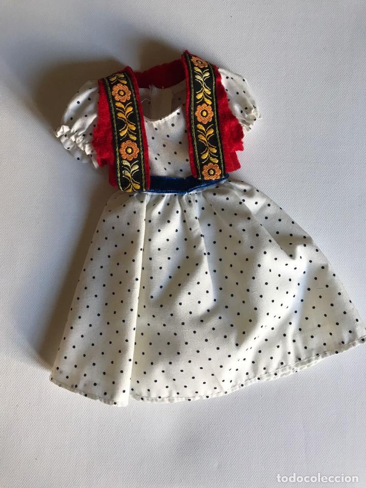 CONJUNTO PASTORA NANCY DE FAMOSA (Juguetes - Muñeca Española Moderna - Nancy y Lucas, Vestidos y Accesorios)