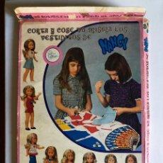Muñecas Nancy y Lucas: CAJA DE CORTE Y COSE NANCY DE FAMOSA. Lote 116648227